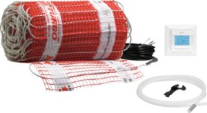 AEG 221453 TBS TC 30 Set 200/1 T Fußbodentemperiersystem Comfort Turbo, 1 m² Breite 30 cm, 200W/m² - 1
