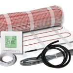 Elektrische Fußbodenheizung Komplett-Set BZ-150 plus (4.8 m² - 0.5 m x 9.6 m) - 1
